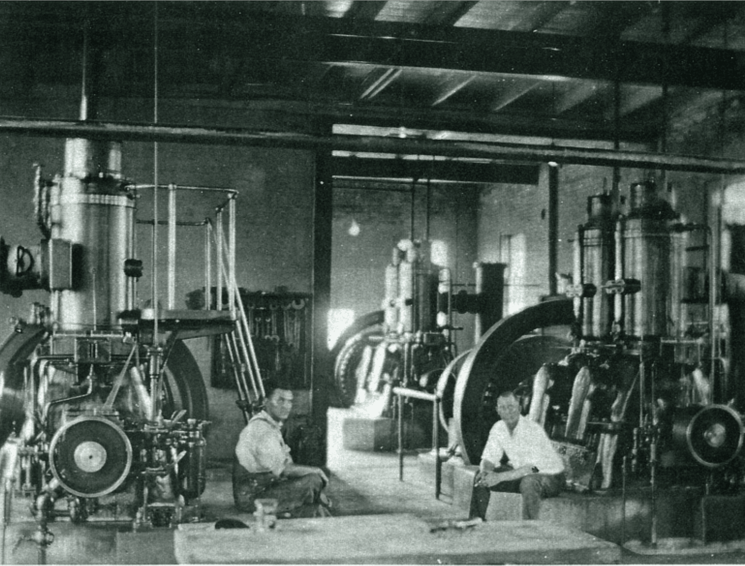 Newman at power plant